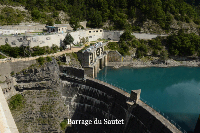 Barrage du Sautet